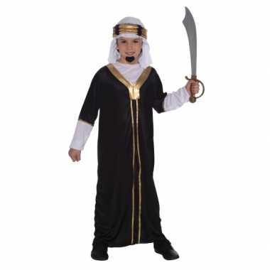 Arabieren carnavalpak voor kids zwart