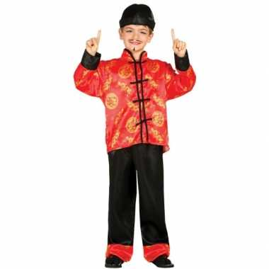 Aziatische verkleed carnavalpaken voor kinderen