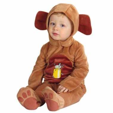 Baby carnavalpak van een beer
