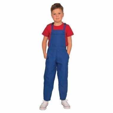 Blauwe verkleed carnavalpakl voor kinderen