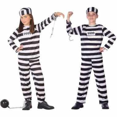 Boef/boeven verkleed pak/carnavalpak voor kinderen
