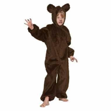 Bruine beren carnavalpak voor kinderen