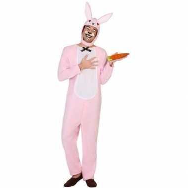 Carnaval dieren carnavalpak paashaas/konijn voor volwassenen