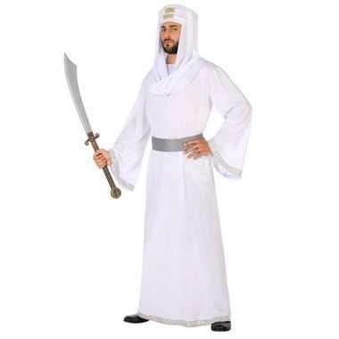 Carnaval/feest arabische strijder/prins hassan verkleedcarnavalpak wi