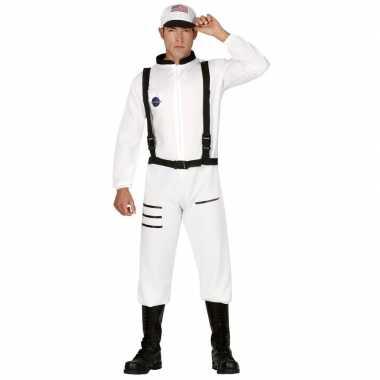 Carnaval/feest astronauten verkleed carnavalpak voor heren