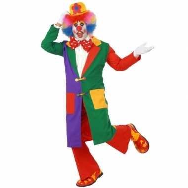 Carnavalpak clown jas volw