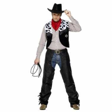 Carnavalpak Cowboypak heren