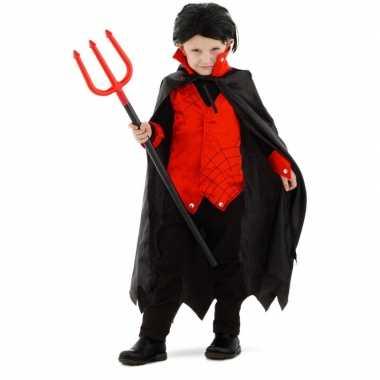 Carnavalpak dracula/vampier verkleedcarnavalpak voor jongens/meisjes/