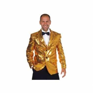 Carnavalpak gouden colbert