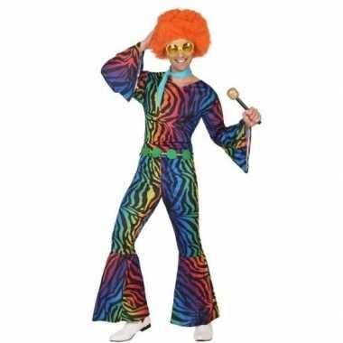 Carnavalpak jaren 70 disco voor heren