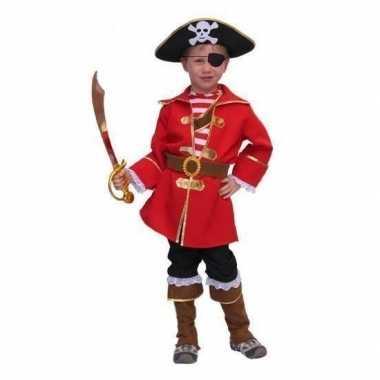 Carnavalpak kapitein piraat