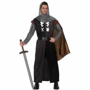 Carnavalpak middeleeuwse ridder voor heren