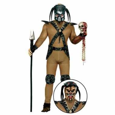 Carnavalpak monster pak met masker voor heren