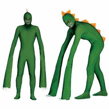 Carnavalpak reptielen monster voor volwassenen