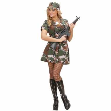 Carnavalpak soldaat jurkje
