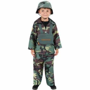 Carnavalpak soldaat kinderen