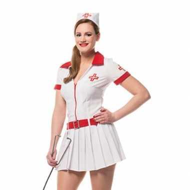 Carnavalpak verpleegster pakje