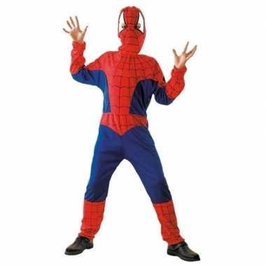 Cartoon carnavalpak spinnen jongen