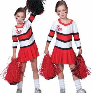 Cheerleader carnavalpak voor meisjes