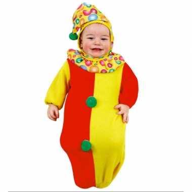 Clown carnavalpak baby