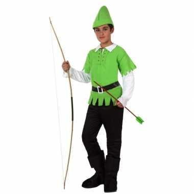 Compleet Robin Hood carnavalpak voor kinderen