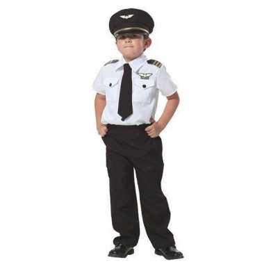 Complete piloten carnavalpak voor jongens