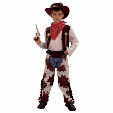 Cowboy koe carnavalpak voor kinderen