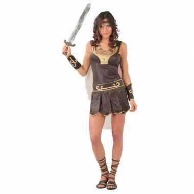 Dames gladiator carnavalpak