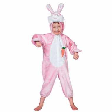Dieren carnavalpak konijn kind