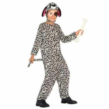 Dierenpak hond/honden verkleed carnavalpak dalmatier voor kinderen