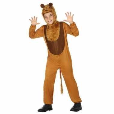 Dierenpak leeuw/leeuwen verkleed carnavalpak voor kinderen
