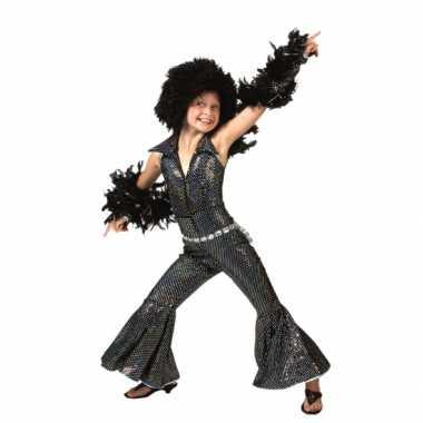 Disco carnavalpak 70s stijl voor kids
