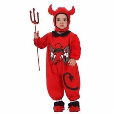 Duivel carnavalpak voor baby's
