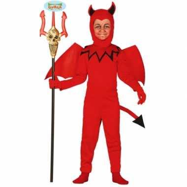Duivel carnavalpak voor kinderen