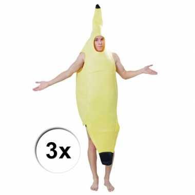 Feest groepscarnavalpak bananentros 10058063
