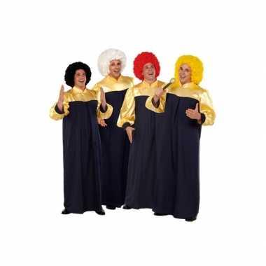 Gospel zanger carnavalpaks