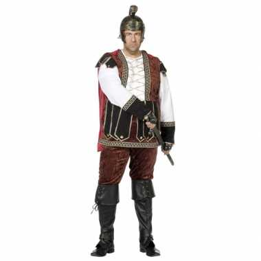 Grote maat middeleeuws carnavalpak voor heren