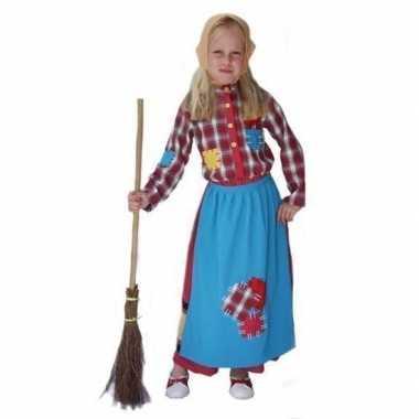 Halloween carnavalpak heks voor meisjes