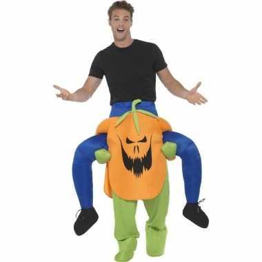 Halloween carnavalpak pompoen