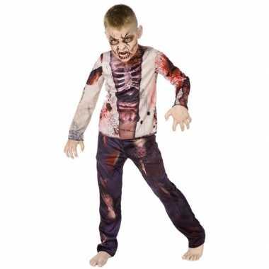 Halloween zombie carnavalpak voor kinderen