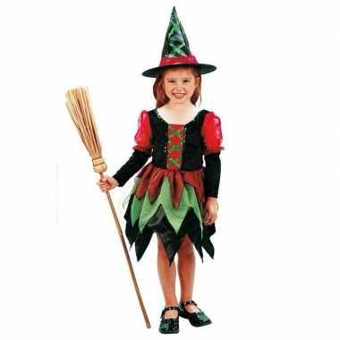 Heksen carnavalpak meisjes