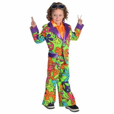 Hippie carnavalpak jongens