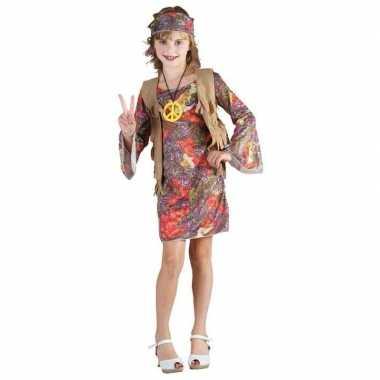 Hippie carnavalpak voor kinderen