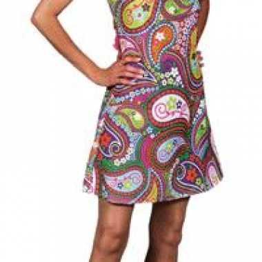 Hippie jurk carnavalpak dames
