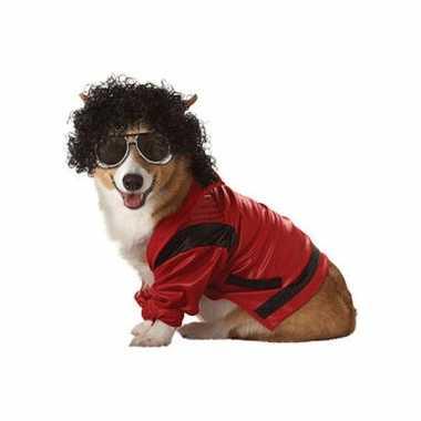 Honden carnavalpak michael jackson
