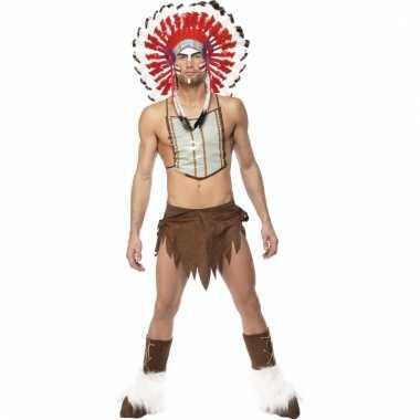 Indianen carnavalpaks voor mannen