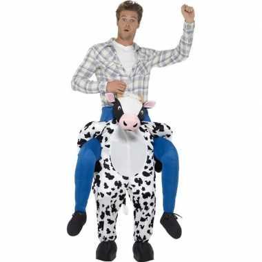 Instapcarnavalpak koe voor volwassenen