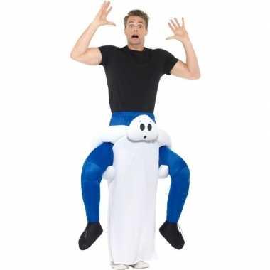 Instapcarnavalpak spook voor volwassenen