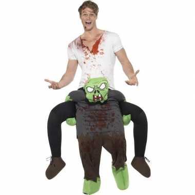 Instapcarnavalpak zombie voor volwassenen