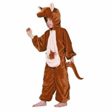 Kangoeroe verkleed carnavalpak voor kinderen